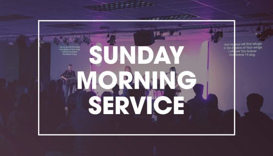Sunday Morning Service at 11am, Lisburn City Church, 1-3 Graham Gardens.