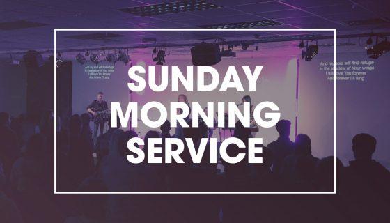 Sunday Morning Service at 11am, Lisburn City Church, 1-3 Graham Gardens.